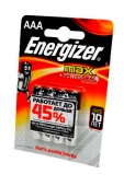 Элемент питания Energizer MAX + Power Seal LR03 (AAA) BL4 - упаковка 4шт