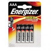 Элемент питания Energizer MAX + Power Seal LR6 (AA) BL4 - упаковка 4шт