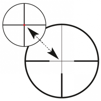 Оптический прицел Carl Zeiss Victory HT M 2,5-10x50 R:60 на шине, с подсветкой (522424-9960)